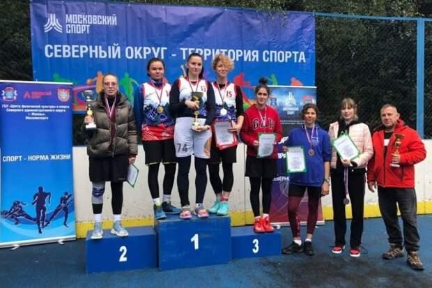Команда Коптева стала призером соревнований по стритболу