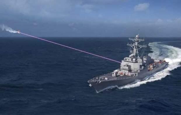 В США: Мир внезапно вступил в эпоху боевого лазерного оружия