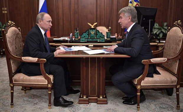 Путин встретился с главой НОВАТЭК