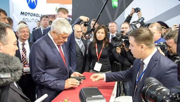 Министр внутренних дел РФ оценил образцы стрелкового оружия ЦНИИТОЧМАШ