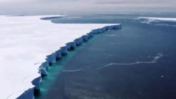 Самый большой айсберг в мире растворился без следа
