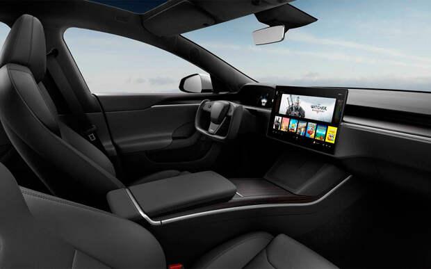 Tesla показала обновленный электрический седан Model S