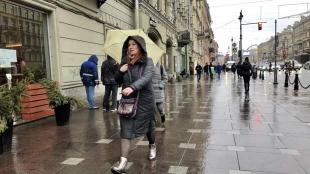 Южный циклон принесет в Петербург дожди и похолодание