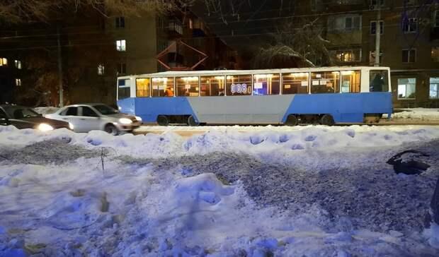 ДТП на улице Краматорской в Орске парализовало движение трамваев