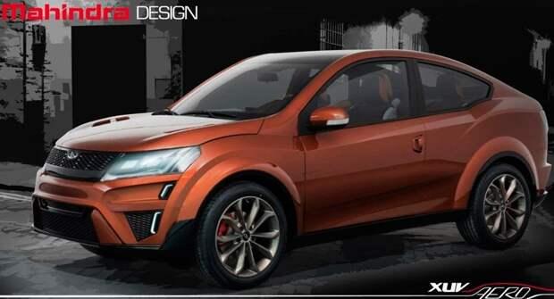 Mahindra выпустит купе-кроссовер XUV900 в 2024 году