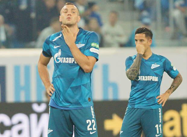 Источник: Дзюба и Вендел тренировались в общей группе «Зенита» перед матчем с «Лацио»
