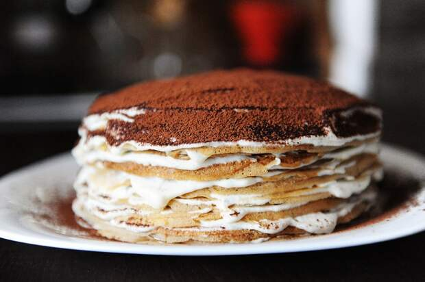 торт с какао фото
