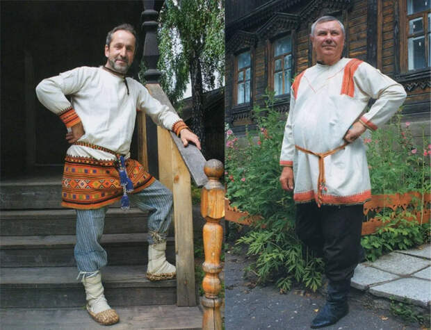 Мужские рубахи Воронежской губернии. По материалам www.rusorn.ru.