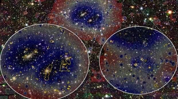 """""""Спектр-РГ"""" обнаружил гигантский мост между скоплениями галактик"""