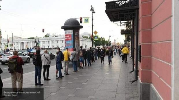 Петербуржцев не заинтересовала несанкционированная акция оппозиции
