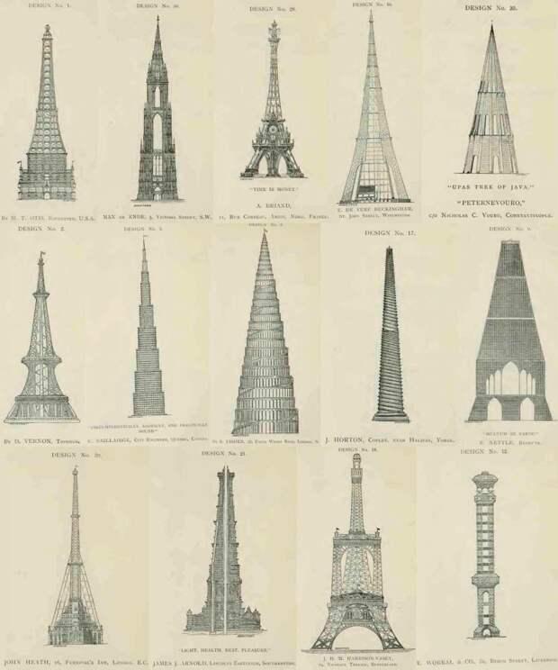 14 интересных проектов, по которым могли построить Эйфелеву башню