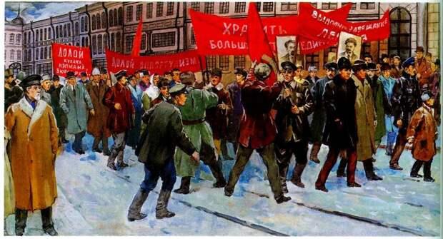 В 1927-м году готовилась революция по сценарию 1917-го?
