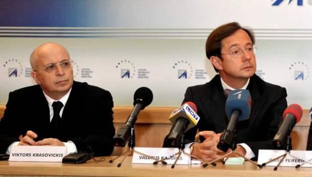 Латвия пытается получить деньги сэкс-владельцев «лопнувшего» банка Parex