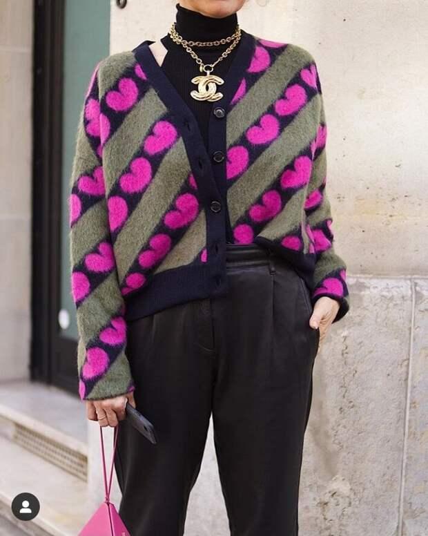 С чем и как носить кардиган, чтобы выглядеть стильно.