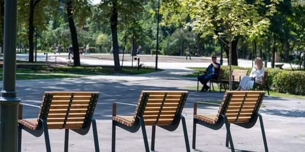 Собянин рассказал об итогах программы благоустройства Москвы в 2021 году. Фото: В.Новиков, mos.ru
