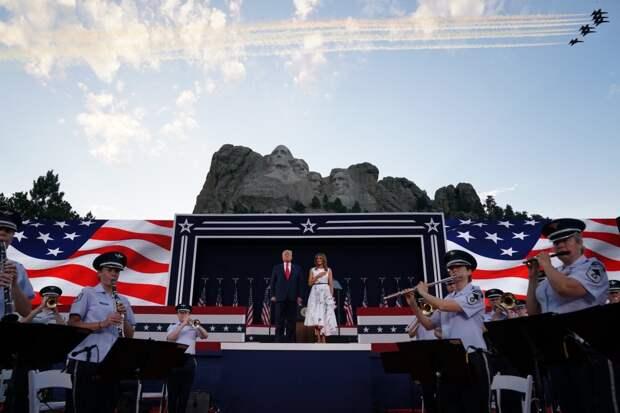 Будет кровь: Трамп объявил начало Гражданской войны в США