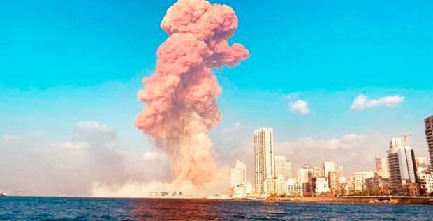 Все подробности мощного взрыва в столице Ливана