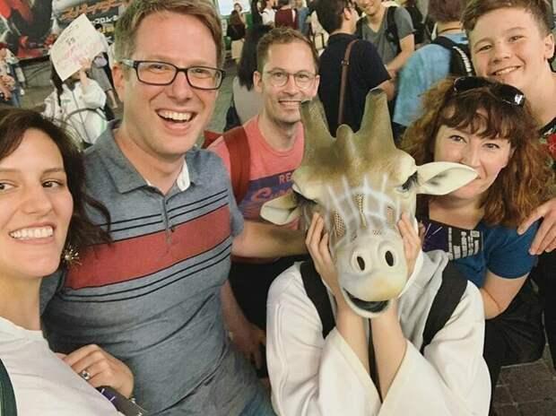 """В Японии популярна музыкальная группа """"Космические жирафы"""" жизнь, подборка, странность, фотография, фотомир, явление, япония"""