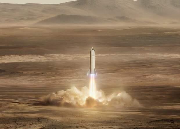 Илон Маск заявил, что по действующим правилам «человечество никогда не доберется до Марса»