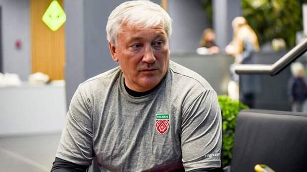 «Какая тут справедливость? Везде давят Белоруссию». Кравец — об отобранном у Минска ЧМ и скандале с флагом