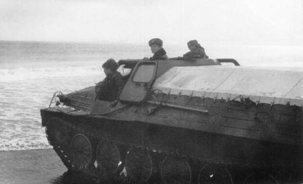 Вездеход ГТ-Т на службе в Советской Армии