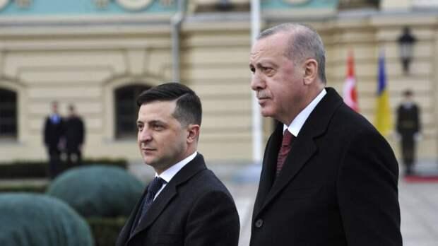 Эрдоган жаловался Зеленскому на угрозы Путина из-за поставок беспилотников Украине