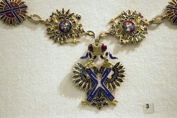 Главный орден великой империии и один из награжденных