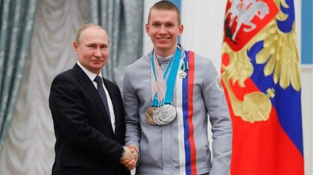 Путин поздравил Большунова с золотом чемпионата мира