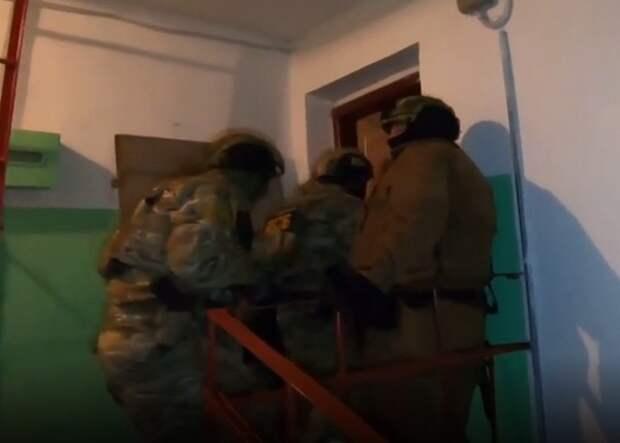 ФСБ сообщила о разоблачении террористической ячейки, готовившей взрывы
