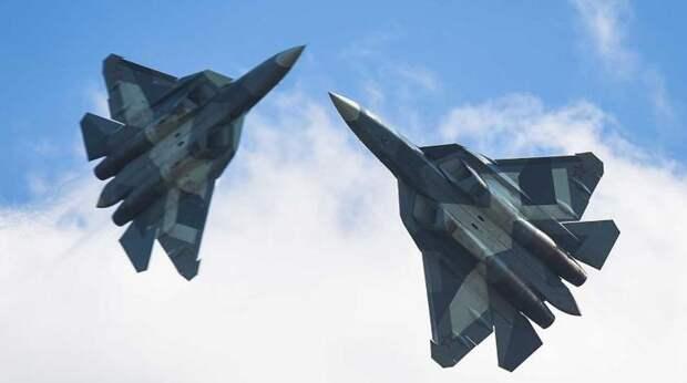 """""""Выглядят убийственно"""": американцы пришли в восторг от вида Су-57"""