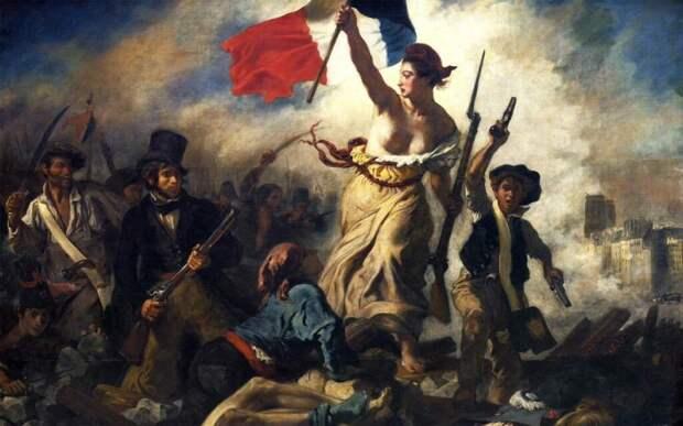 Марианна — символ Французской революции