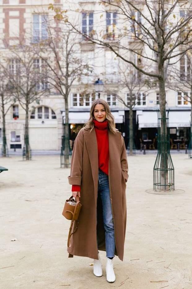 Верблюжье пальто, цвета кэмел, camel – фото-образы