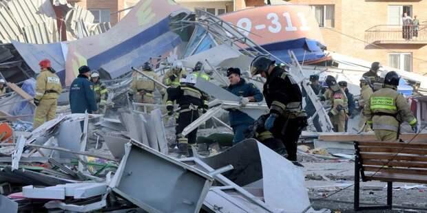Из-под завалов супермаркета во Владикавказе выбрался человек