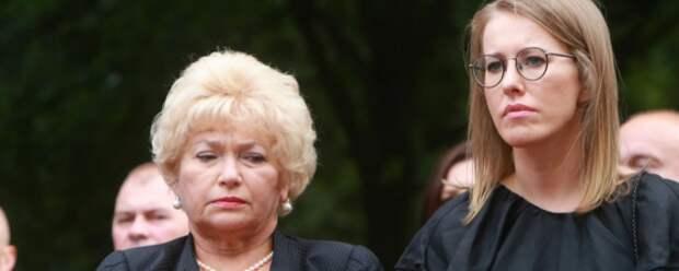 Людмила Нарусова назвала Ксению Собчак «сумасшедшей»