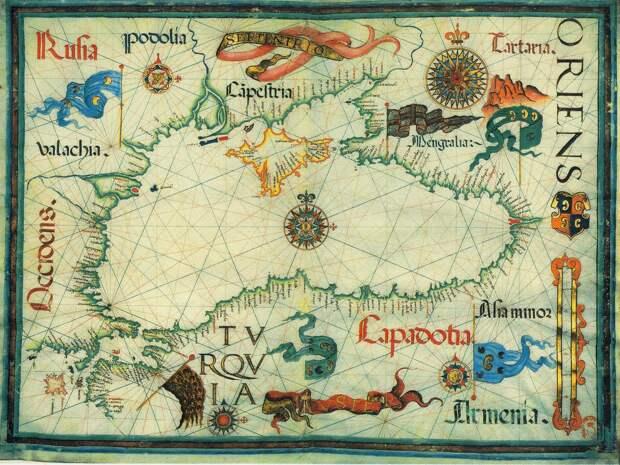 Торговые связи Москвы с итальянскими колониями в Крыму и Константинополем в XIV-XV веках.