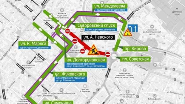 В Симферополе из-за «Кросса Нации» перекроют улицу Воровского