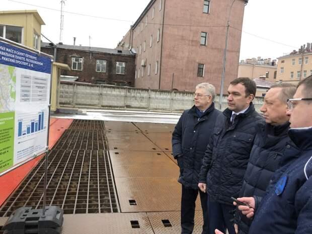 В Петербурге построят три снегоплавильных пункта в ближайшие годы — Беглов