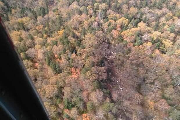 МЧС: Обломки самолета Ан-26, пропавшего с радаров в Хабаровском крае, нашли в районе горы Хребтова