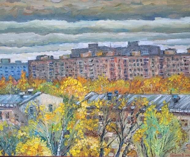Художник из Кузьминок увековечил улицы и дворы района в акварели
