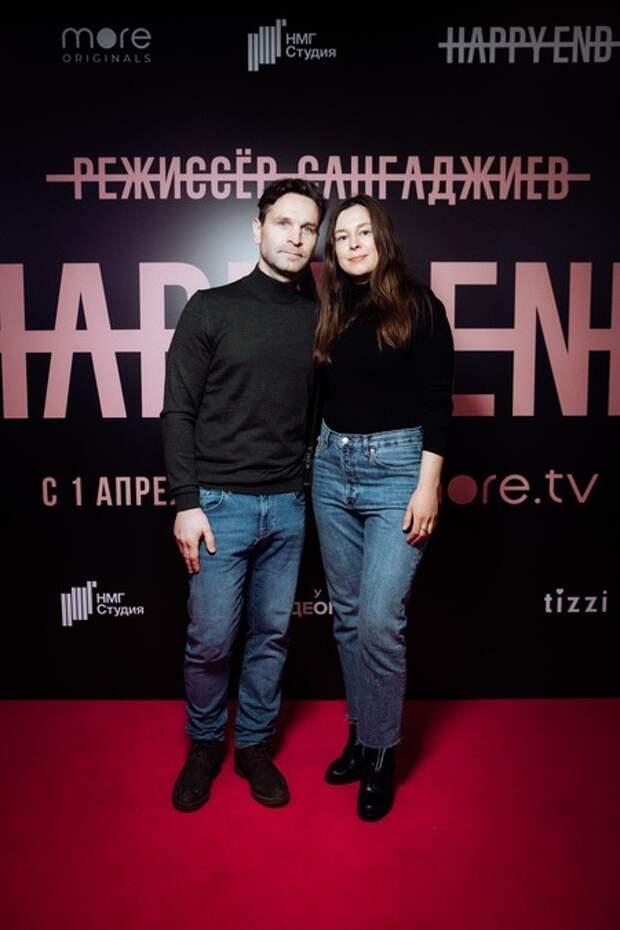 Любовь Толкалина с дочерью, Федор Бондарчук с сыном, Мария Машкова и другие на премьере фильма Happy End