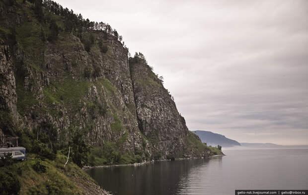Озеро Байкал | Кругобайкальская железная дорога (КБЖД) (2010)