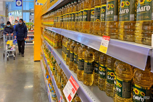 ВРоссии непродлят заморозку цен насахар иподсолнечное масло