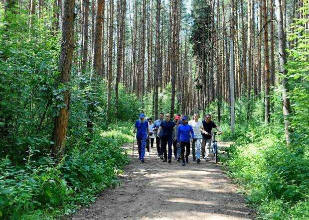 Жители Ижевска смогут высказать мнение по поводу благоустройства «Тропы здоровья» в Ленинском районе