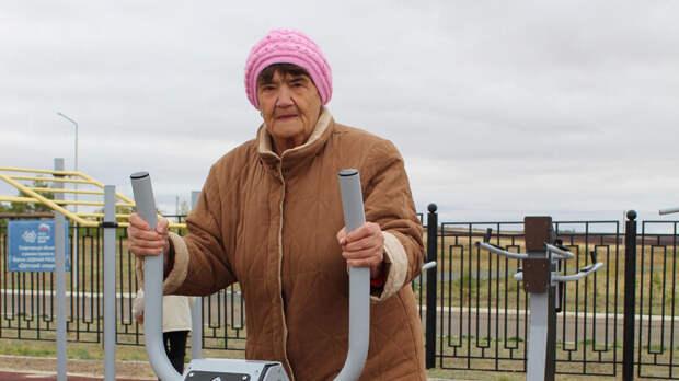 83-летняя жительница Оренбуржья сдала нормы ГТО