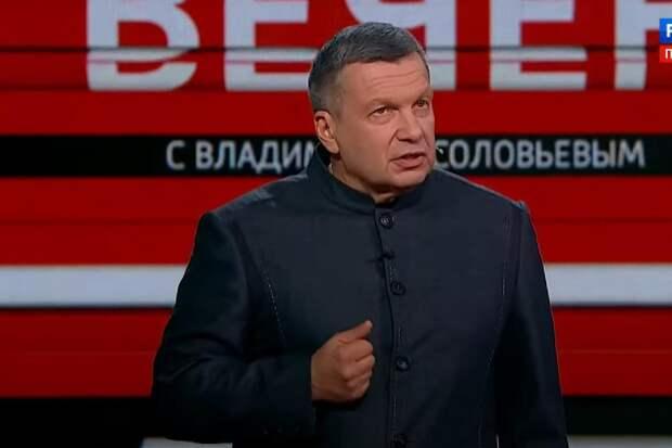 Соловьёв обругал Собчак за глупость про 9 мая