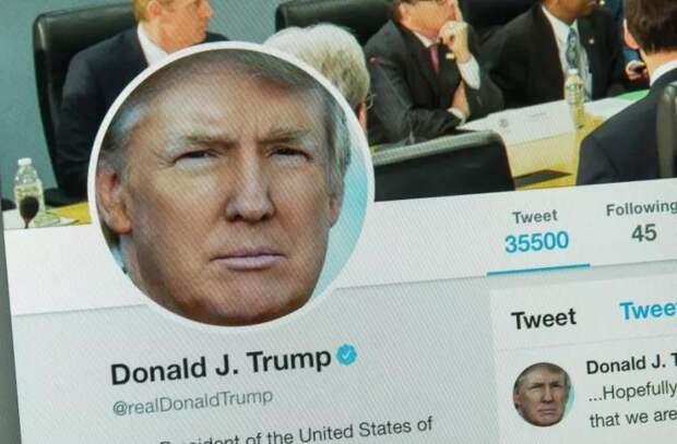 Аккаунт в Twitter для репостов с нового сайта Трампа заблокирован