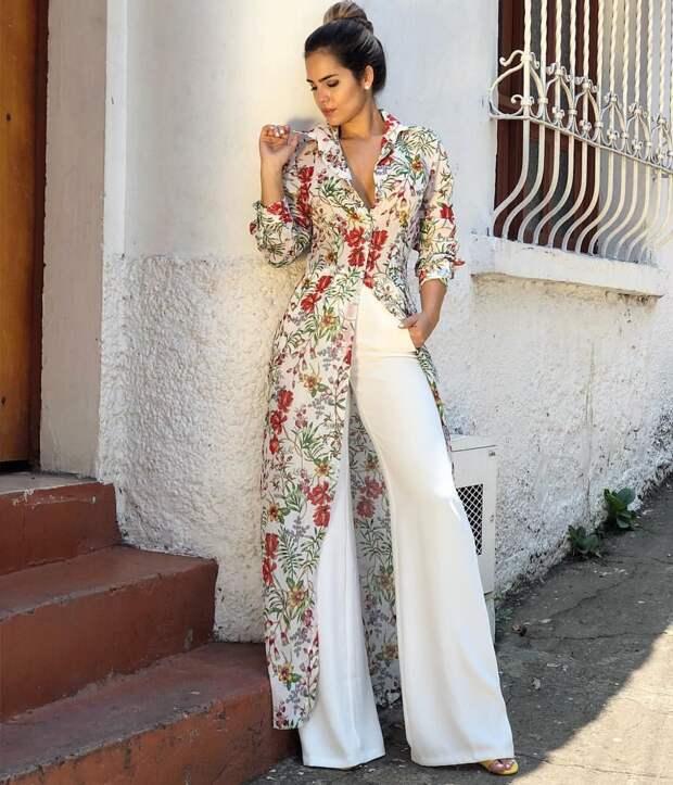Платье с брюками фото 9