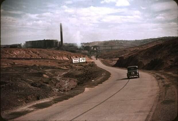 Завод по добыче меди и серной кислоты, Копперхилл, Теннесси, сентябрь-октябрь 1939 г.