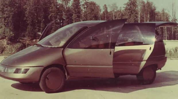 9 концептов автомобилей последних лет существования СССР