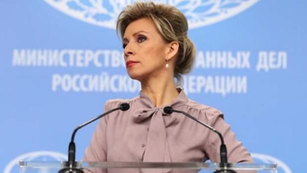 Захарова назвала истерикой реакцию Запада на ситуацию с самолетом Ryanair